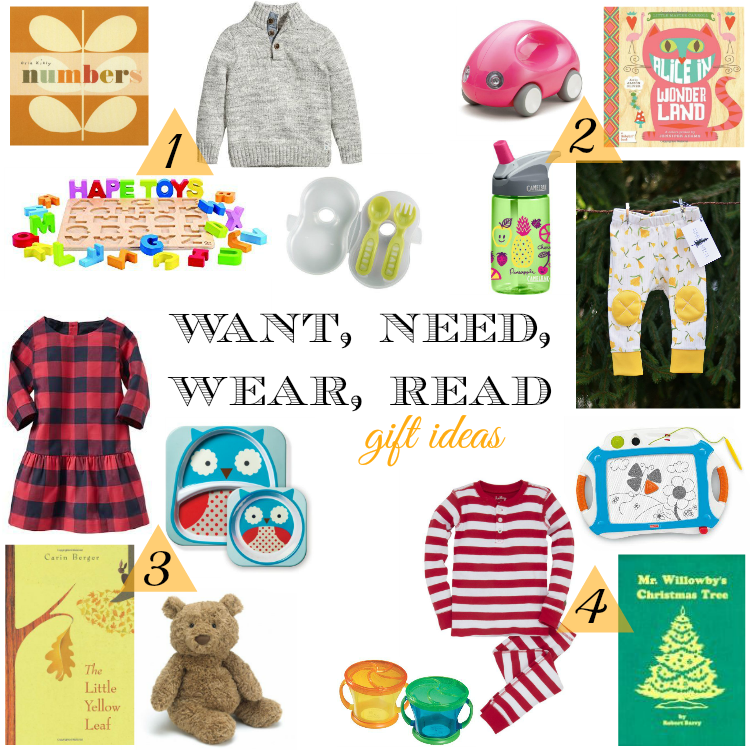 Sweet Turtle Soup - Gift Ideas: Want, Need, Wear, Read