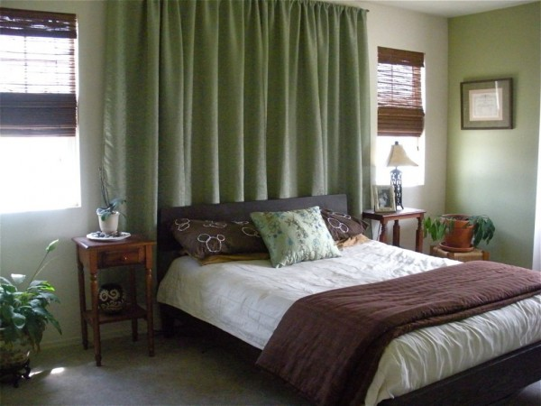 Modern Furniture Bedroom curtain design ideas 2011