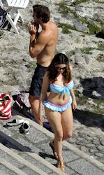 Kelly Brook Bikini Candids in Ischia