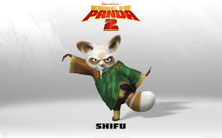 Shifu Kungfu Panda 2 Movies Wallpaper