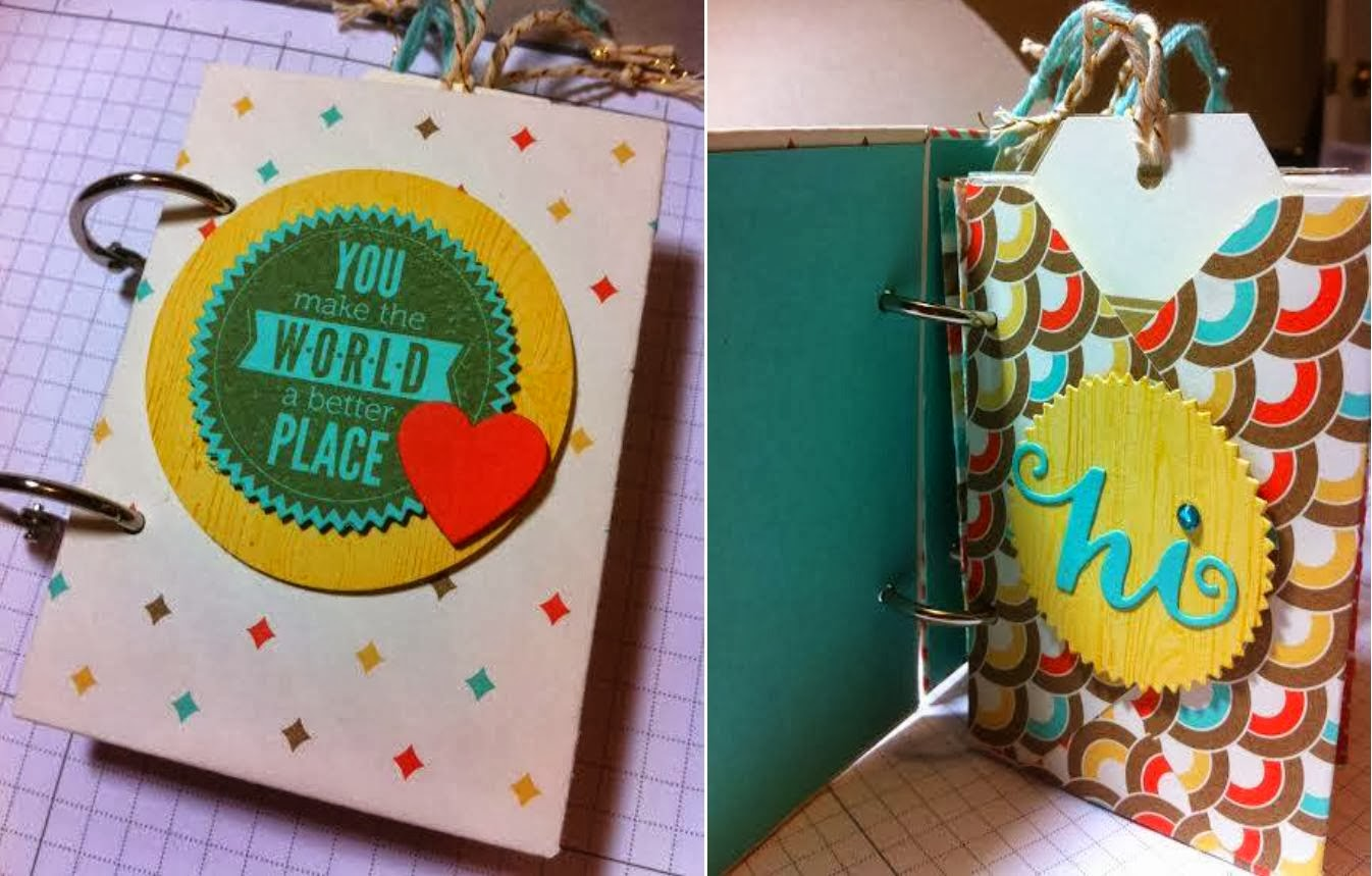 Pocket Tag Book Tutorial
