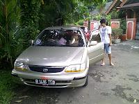 Pengiriman Pengecekan Toyota Soluna B 1416 TEO ke Palu