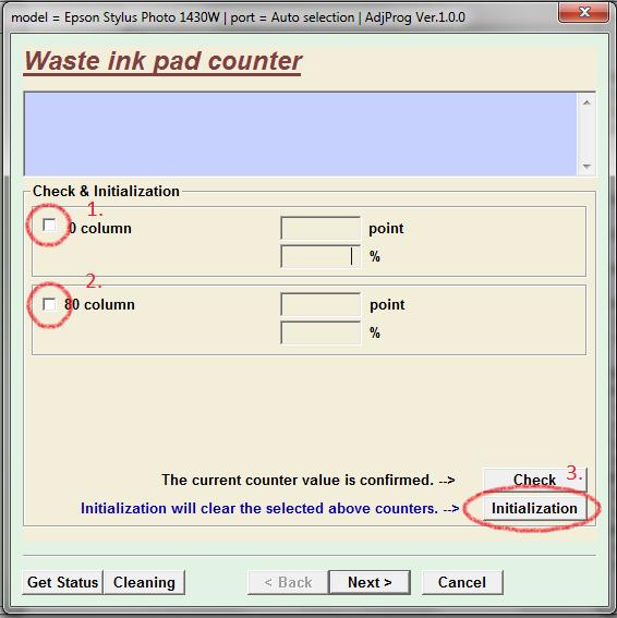 ultimo paso y luego hacer clic en initialization