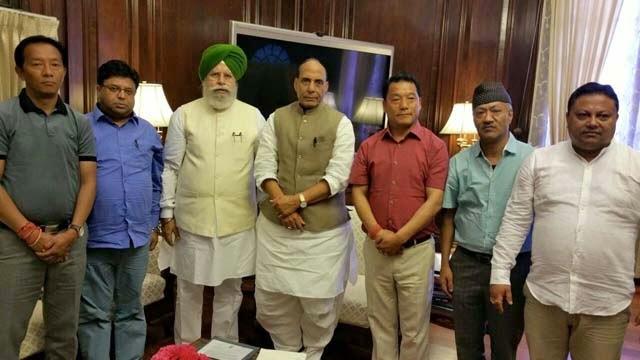Binay Tamang, Roshan giri, ss ahluwalia, Rajnath Singh, Bimal Gurung,Harka bahadur chettri Anit Thapa