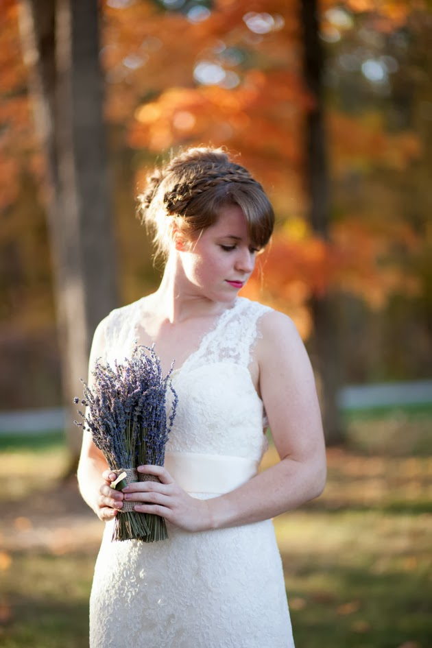 Erin Coleman: Backless Lace Wedding Dress - Bridal Bliss Designs