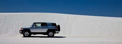 FJ at White Sands