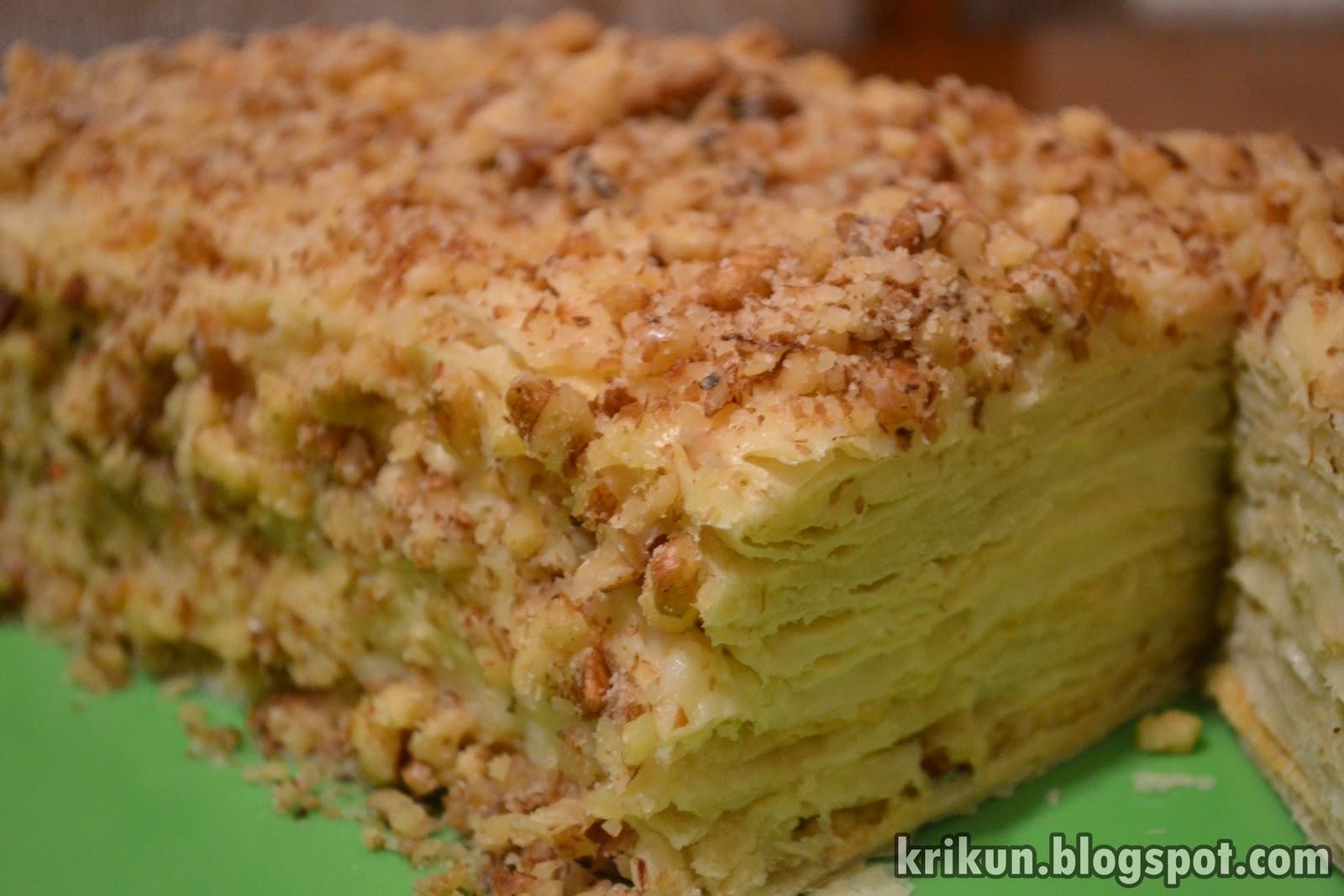 Торт наполеон из лаваша пошаговый рецепт