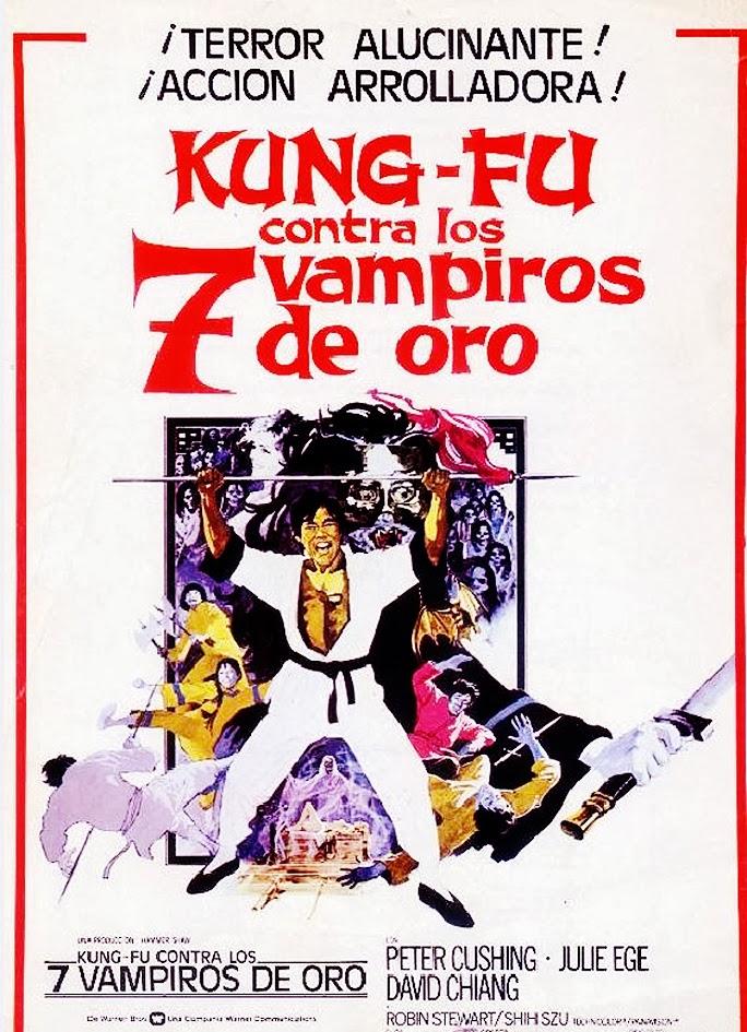 Kung Fu Contra Los Siete Vampiros De Oro (1974)