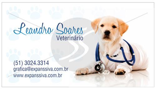 cartoes de visita veterinarios cachorro medico - 15 lindos Cartões de Visita de Veterinários