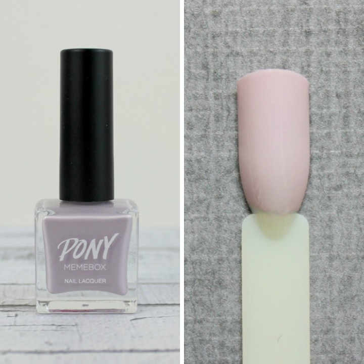 Memebox X Pony Nails #09 Sweetly Floral swatch swatches 포니 네일 #09 스위트리 플로랄