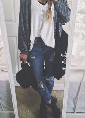 Fashion กางเกงยีนส์ขาด เปลี่ยนลุคส์เป็นสาวเท๋ห์ สวยเซอร์