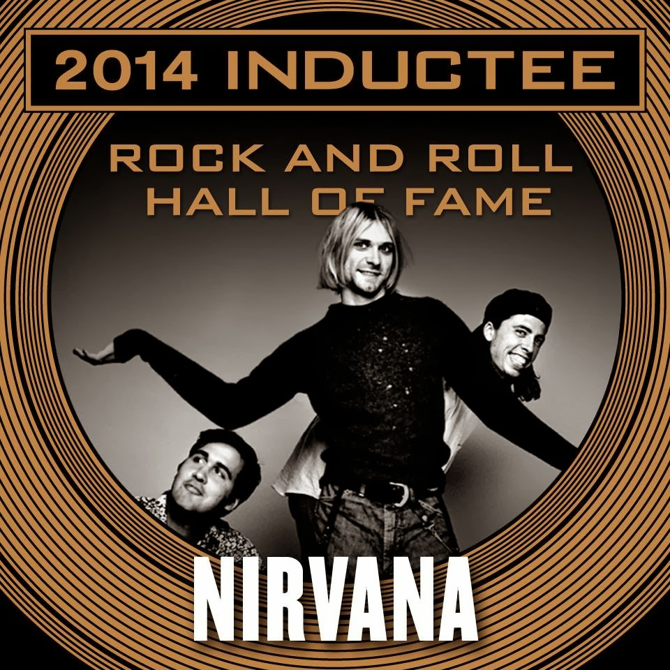 Nirvana comment on rock roll hall of fame induction