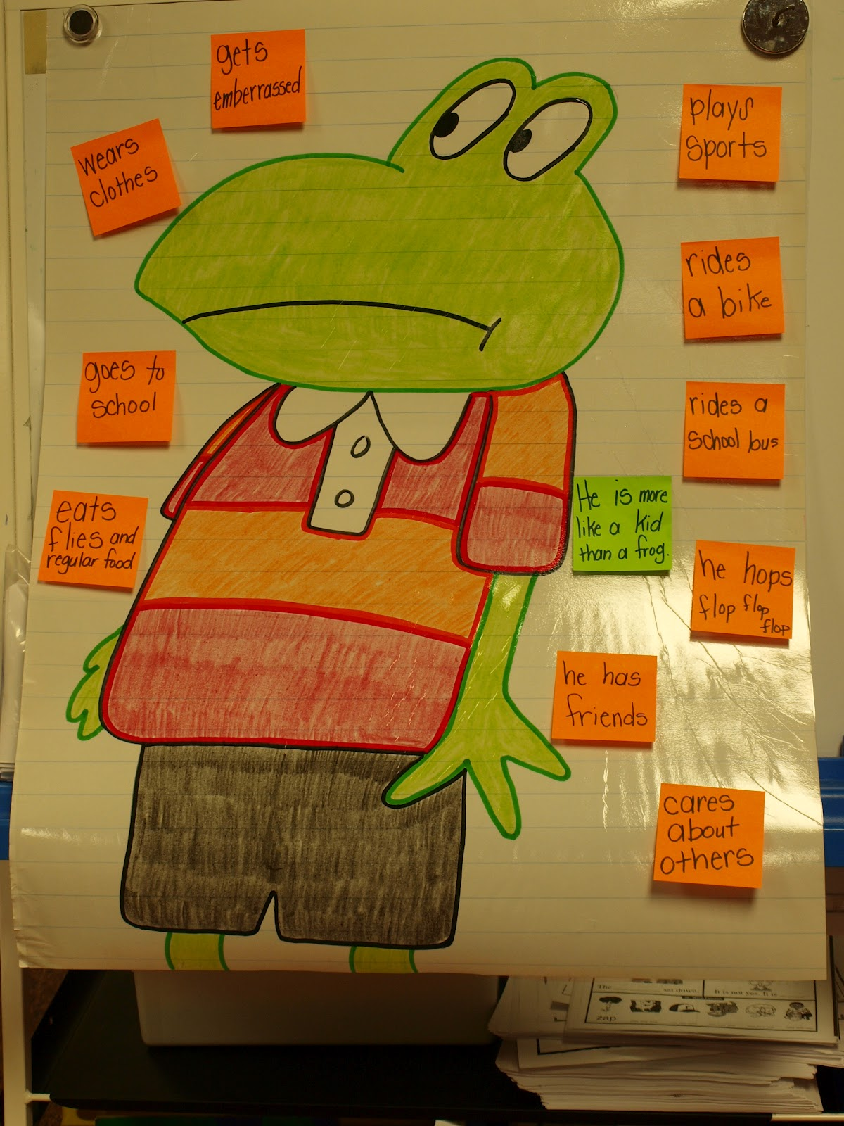 Froggy Book Character