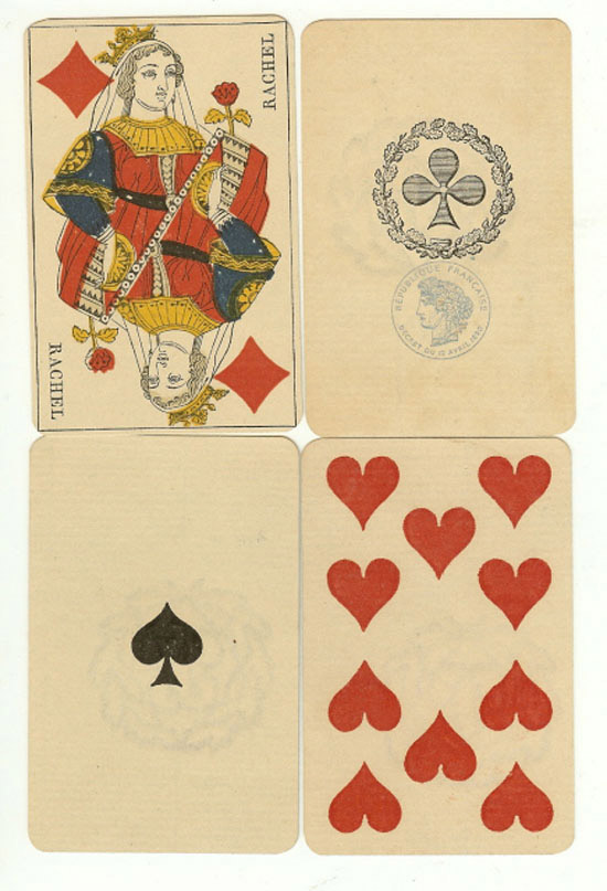 Antique Playing Cards Images