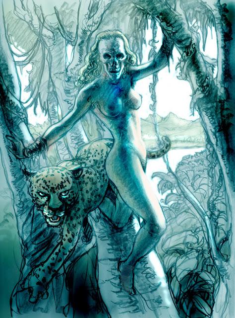 Fantomah by Simon Fraser
