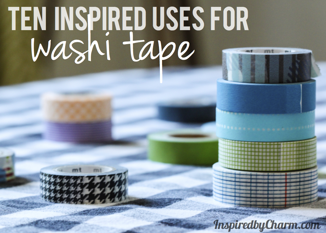 10 Inspired Uses For Washi Tape Link Up Party
