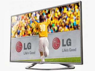 TV 3D LED 42 LG LA6130 Full HD 1080p