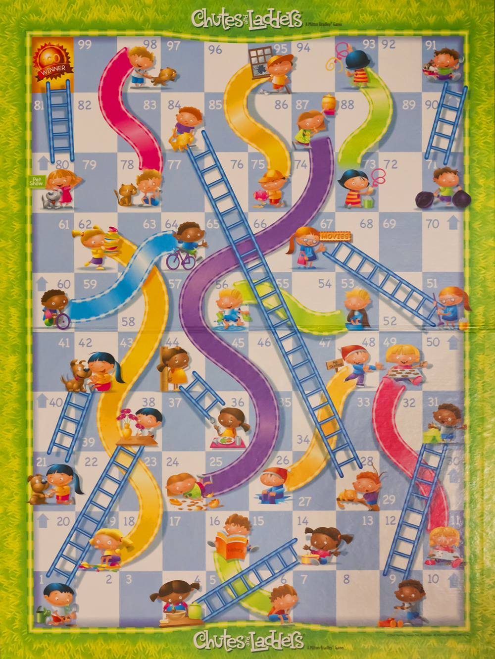 Chutes And Ladders Board Template Chutes and ladders is an