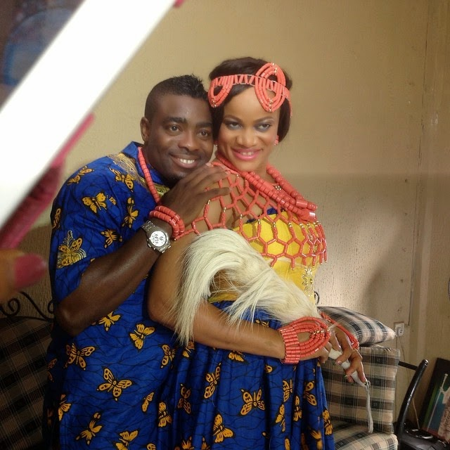 Happy Anniversary to Actress Uchenna Nnanna-Maduka and Her Hubby