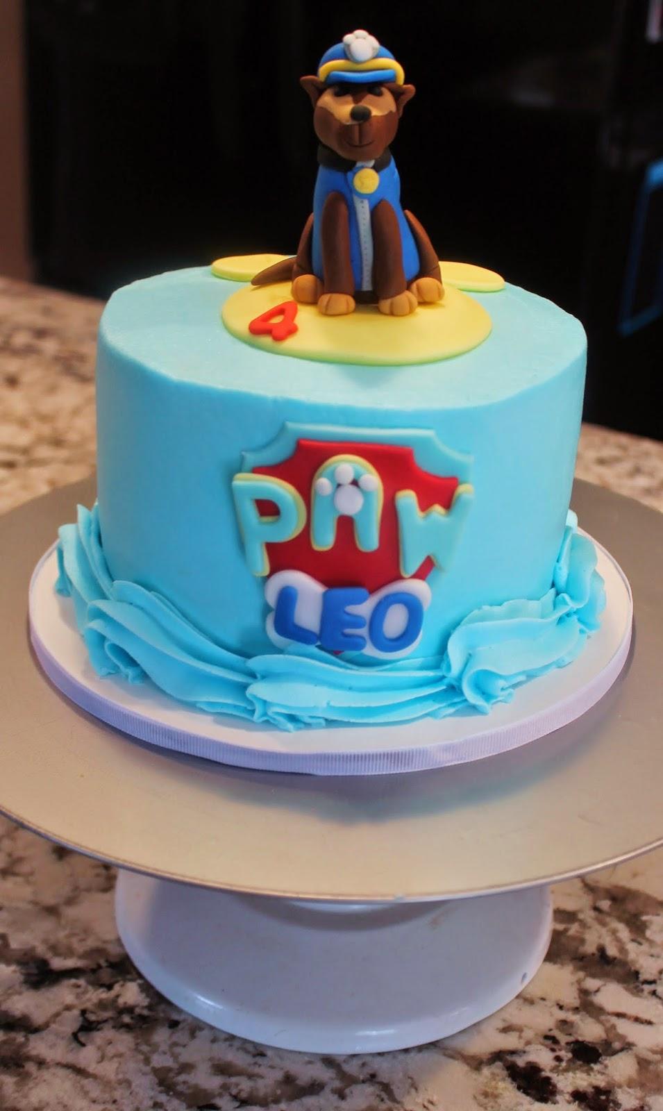 Creative Cakes By Lynn Leos Paw Patrol Cake