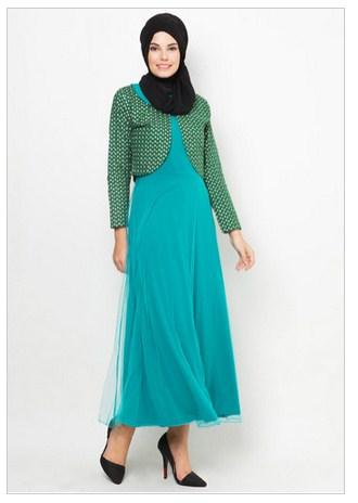 Model Baju Muslim Polkadot Terbaru 2016