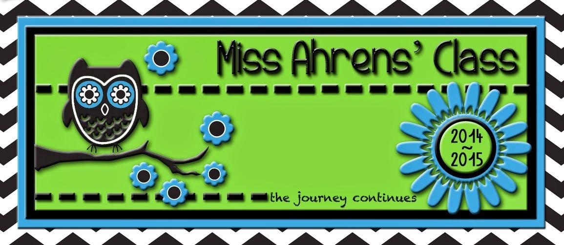 Miss Ahrens' Class
