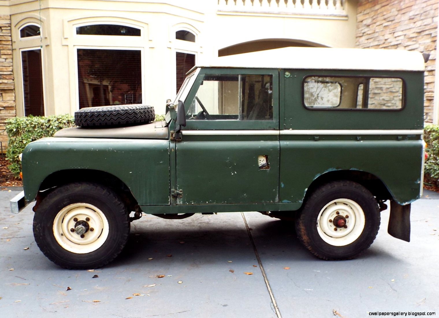 Series IIA Land Rover Defender