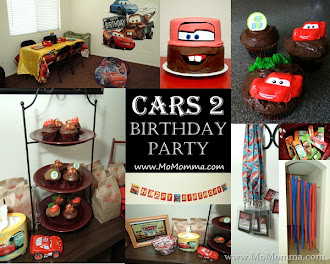 Featured Post: Cars 2 Birthday