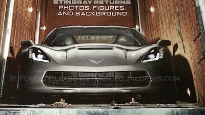 2014 Corvette face leaks on Road & Track cover