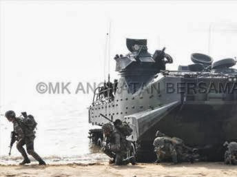 Cuộc tập trận chung Carat 2013 giữa quân đội Mỹ và Malaysia