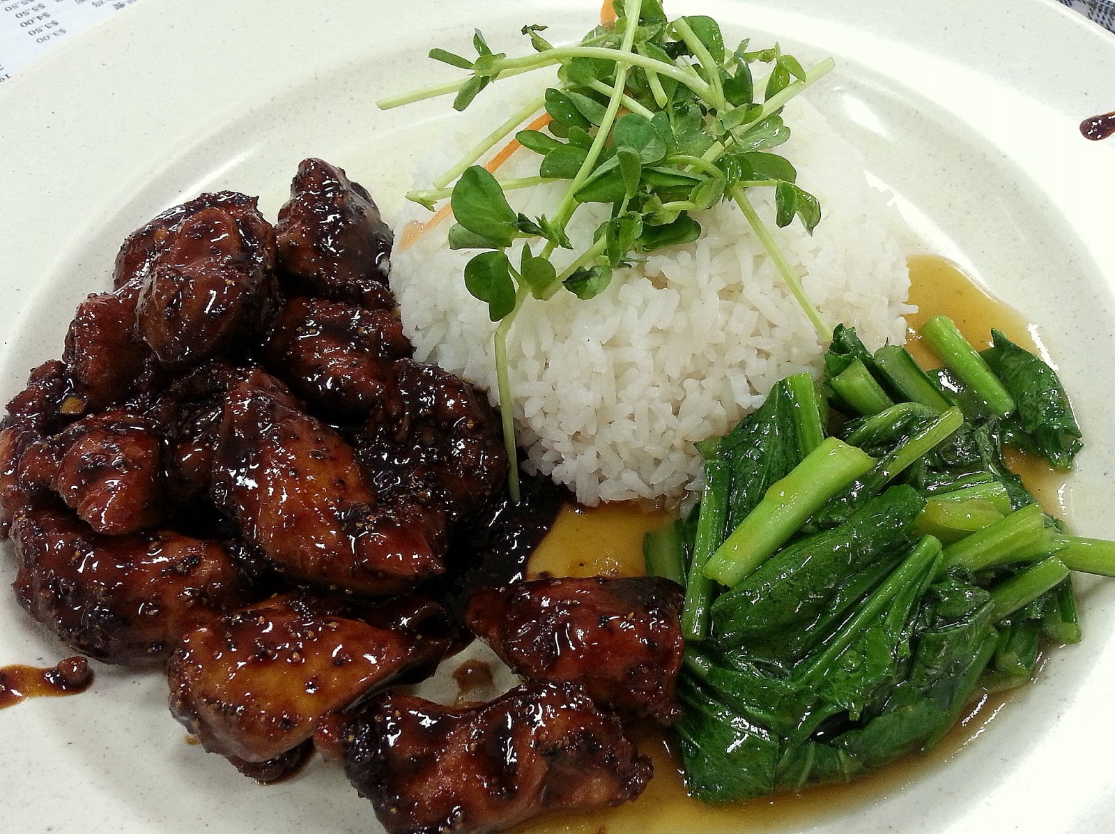 fried black pepper chicken black pepper chicken black pepper chicken ...
