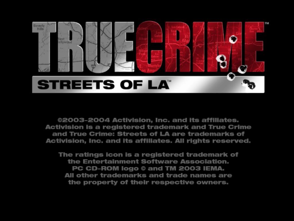 True Crime Streets of LA PC Game