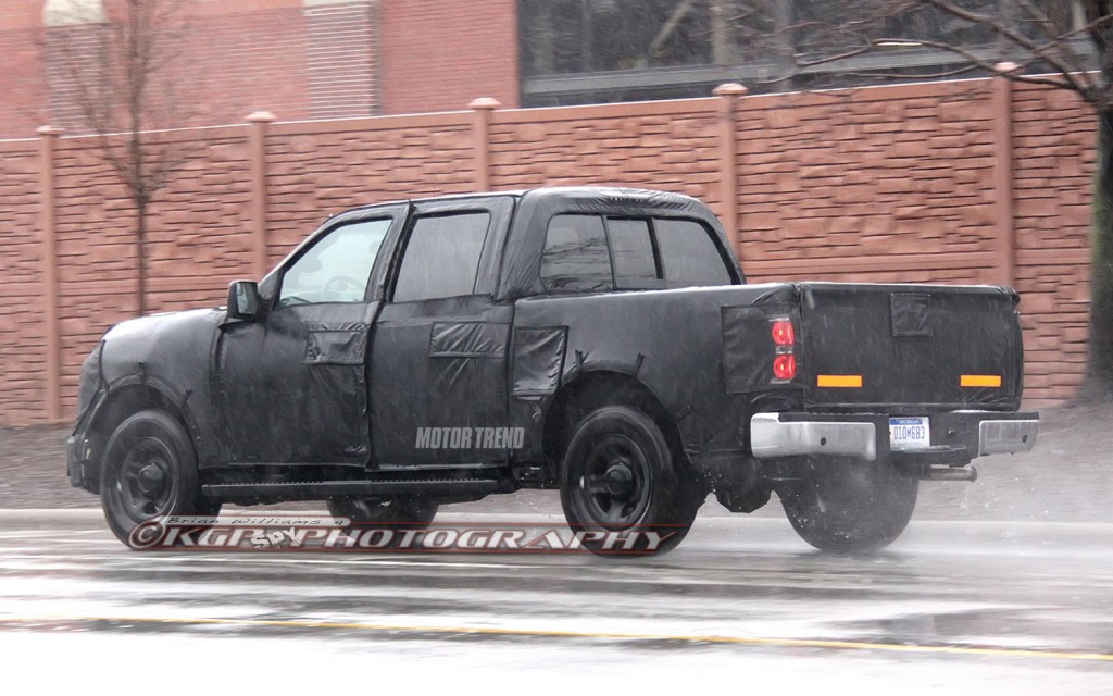 Ford F150 Spy Shots