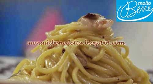 Cacio e Pepe rivisitata ricetta Parodi per Molto Bene su Real Time