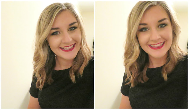 Festive Christmas Makeup Beauty Party Selfie