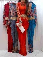 Gamis Batik Dubai SOLD OUT