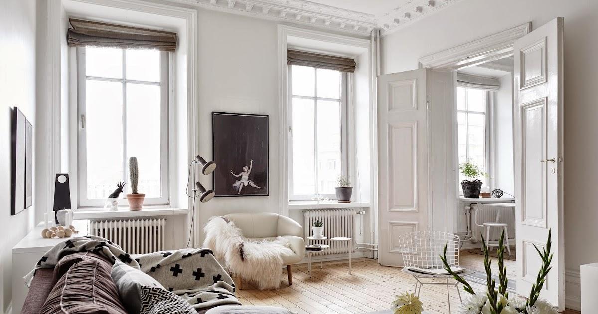 Scandimagdeco le blog appartement lumineux skansen en su de - Appartement spacieux lumineux en suede ...