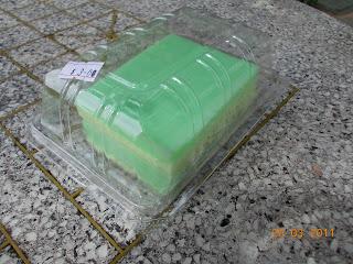 Pandan Kaya Cake, S$ 3.00