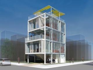 Vivienda prefabricada de aluminio desarrollo vertical