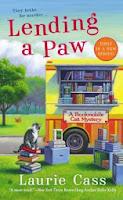 http://ponderingthelibrary.blogspot.com/2013/12/lending-paw.html