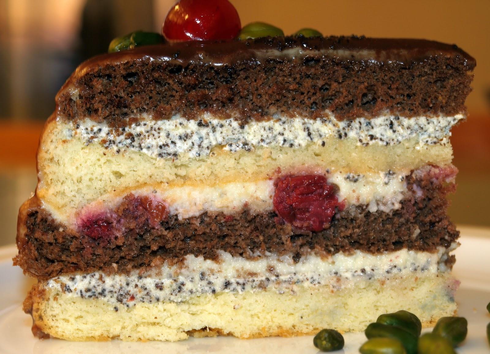 Рецепты тортов с начинкой из фруктов пошаговой