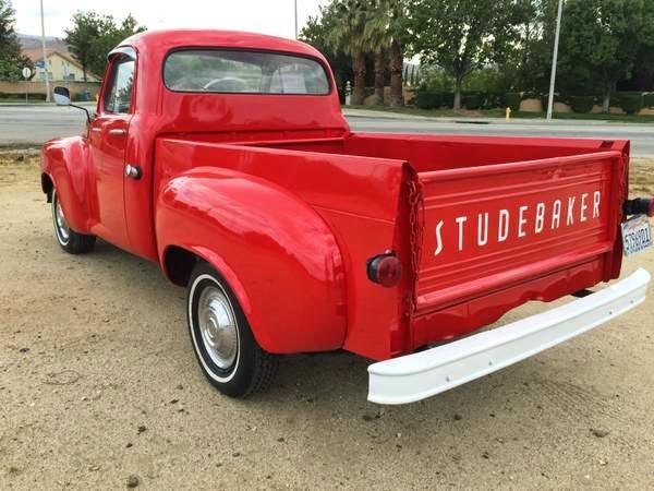 1956 Studebaker Transtar Pickup Auto Restorationice