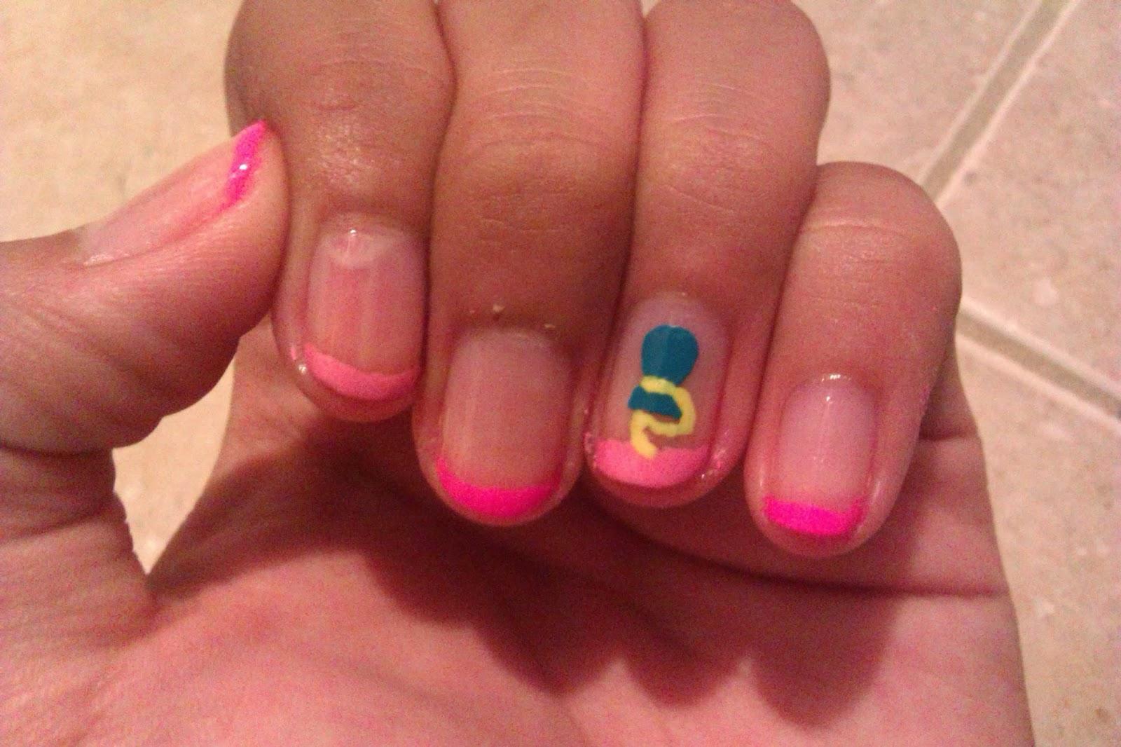 Nerd Girls Nail Art: Pinkie Pie!