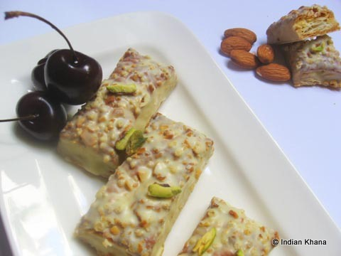 Almond Chocolate Puff Pastry by Indian Khana