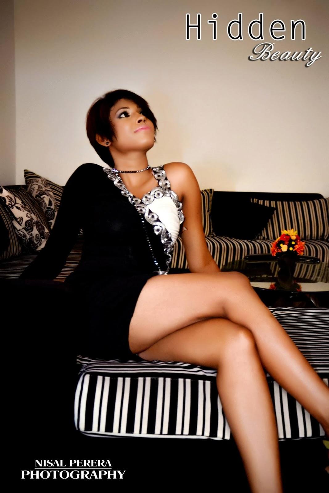 Nilu Tanasha black legs