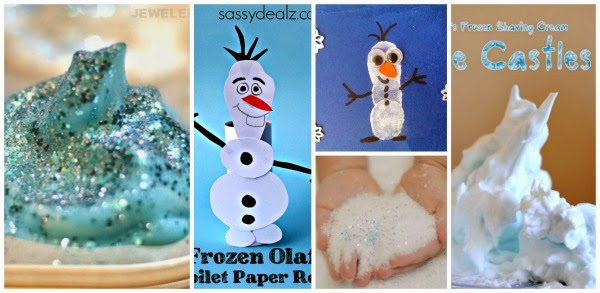 Frozen activities & crafts inspired by the movie- so many fun ideas!