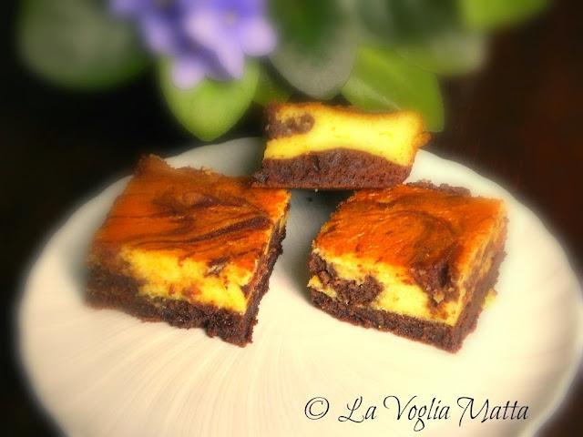 brownies cioccolato e arancia