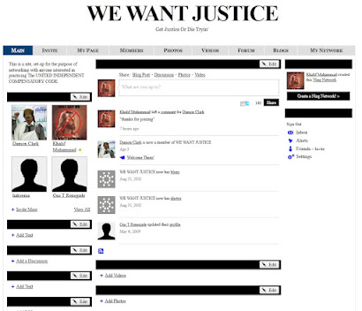 We Want Justice Forum