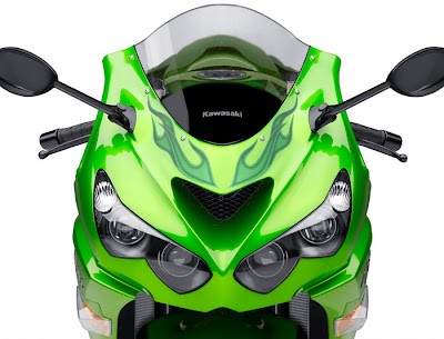 2012 Kawasaki Ninja ZX14R Head Lamp Picture