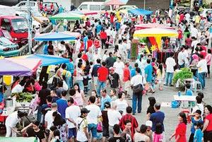 Pasar Tamu Dayak Johor deka dikemanah sereta beperabung ujung taun 2014 tu lagi
